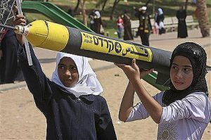 Arab children. Deceived by their parents and their mullas.