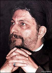Shia cleric Imam Musa al-Sadr.