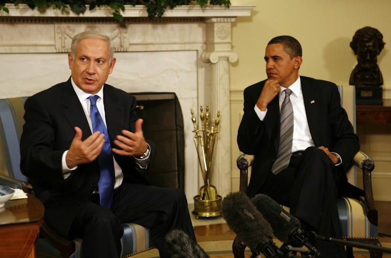 President Barack Hussein Obama uses the fear factor to blackmail Benjamin Netanyahu