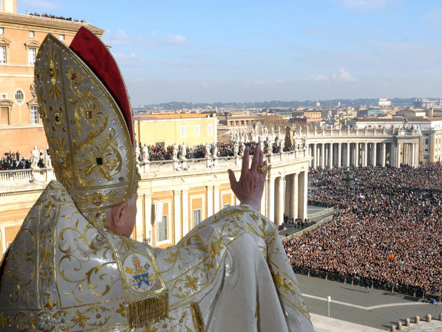 The Pope is a public figure, and needs to be rebuked in public.