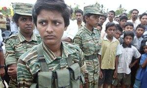 Tamil Tiger suicide bomber
