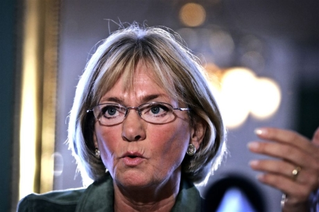 Danish party chairman Pia Kjærsgaard is tired of complaining Arab Palestinians