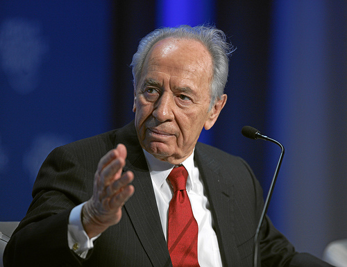 Shimon Peres rebukes the United Nation for trying to harm the state of Israel.