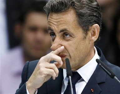 The President of France is able to smell the rat of Jew hate in Tehran.