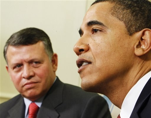 President Obama supports fraud, when he supports King Abdullah of Jordan´s demand for a second «Palestine».