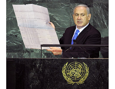 The Prime Minister of Israel is a brave man. He spoke the truth to the World leaders.