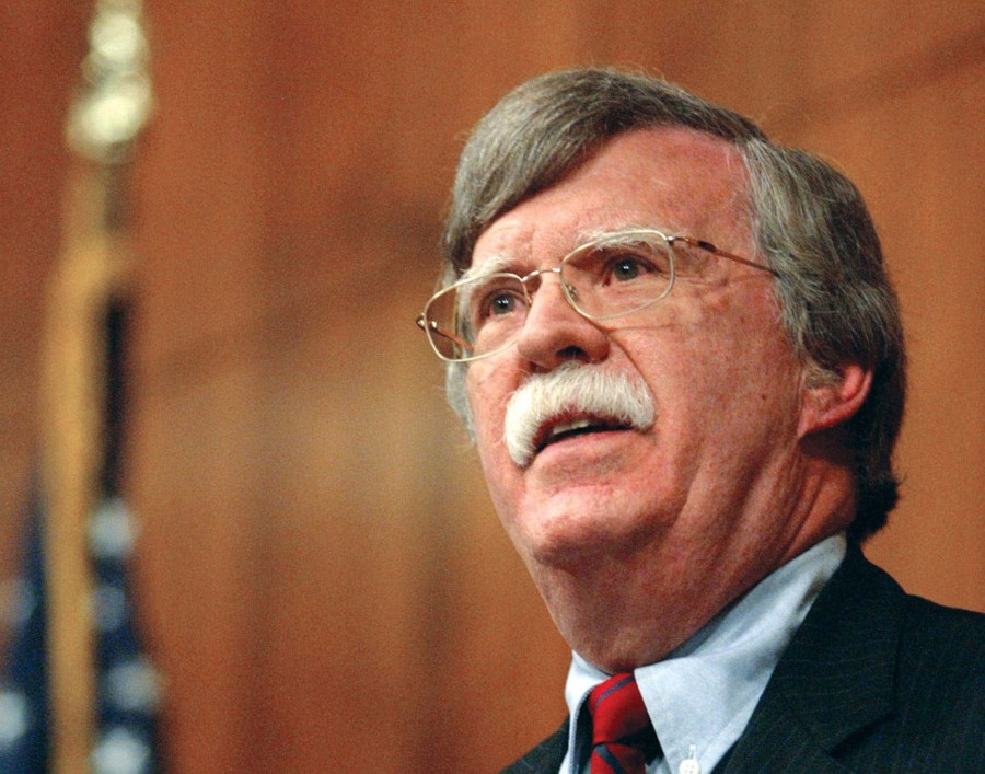 John Bolton is the former US Ambassador to United Nations