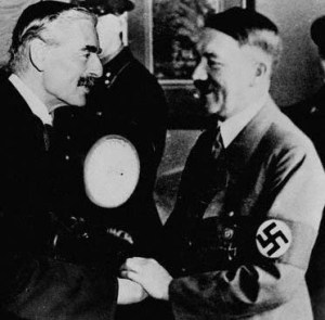 Chamberlaine trusted Hitler. He had no discernment at all.