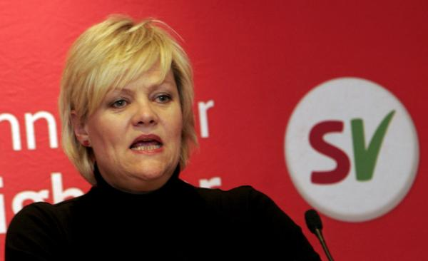 Finance Minister Kristian Halvorsen is also the president of the Socialist party of Norway