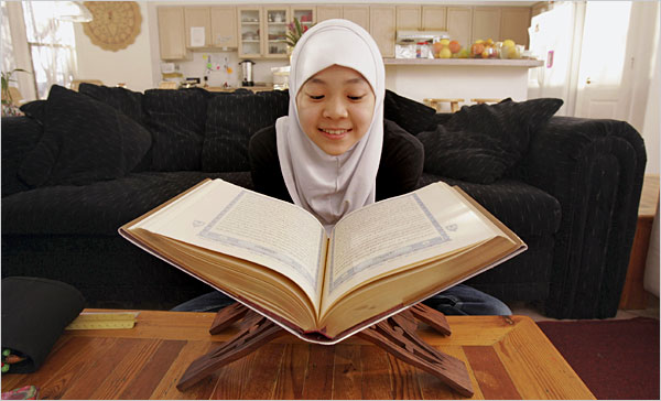 When this girl search for the truth in the Koran, she will not find it.