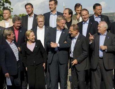 Carl Bildt hosted the foreign Ministers of EU in Stockholm yesterday