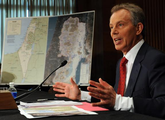 Tony Blair is one of the main tools used by the emenies of Israel to force the Zionist state into a false peace with Radical Islam.