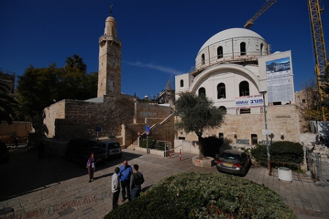 Islam tried to destroy the Hurva Synagogue in East Jerusalem. Now its been restored