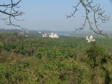 In 1540 there were 200.000 people living in Old Goa. Today there is only rubble left under the jungle cover.