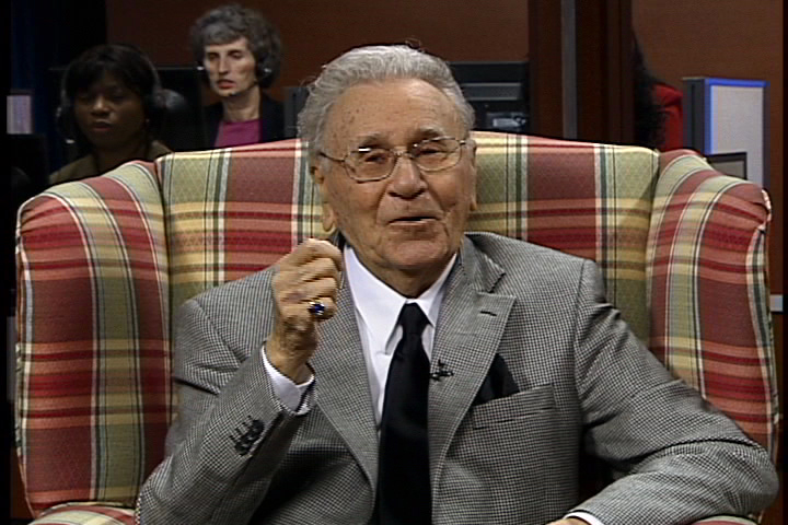 Oral Roberts. What is the use if a man gain the whole Wolrd, but sell his soul?