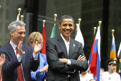 obama and Rahm EMmanuel