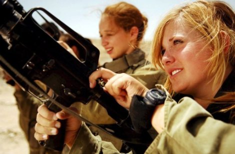 Two Jewish women serves in the IDF to protect the state of Israel. They must not fail.