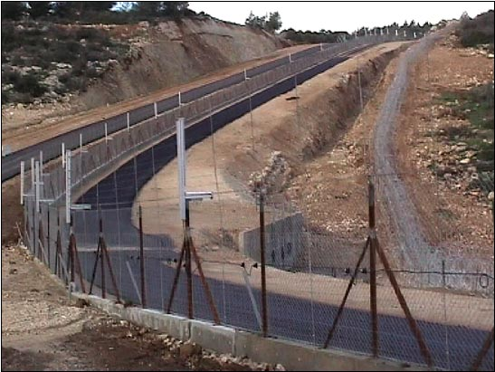 Israel separated for security