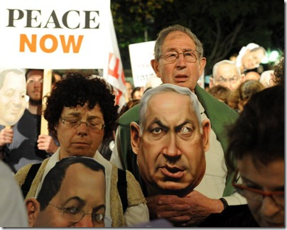 Israeli-protest-against-right-wing-leaders