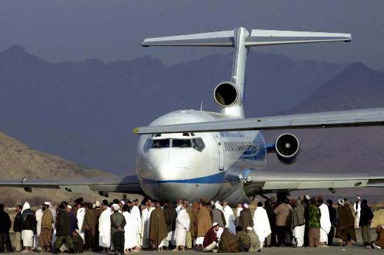 kabul airport pictures. Kabul airport: Are they
