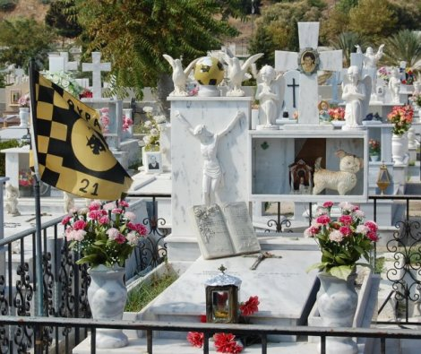 Football supporters are really making a big impact in the Greek Orthodox world.