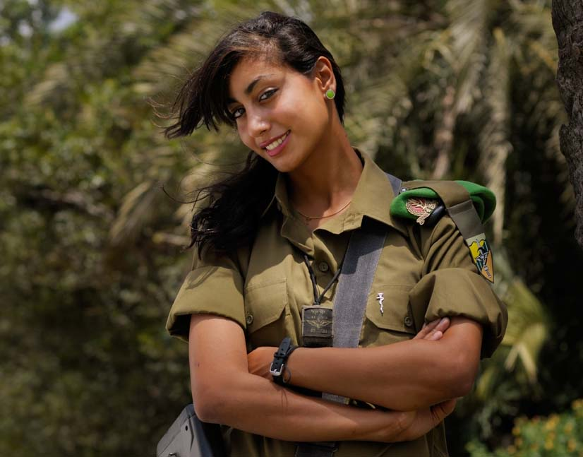 Elinor josef is the first arab female to serve in a combat unit in the