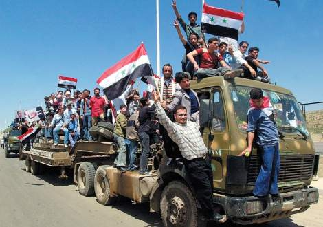 The Syrian army has not been victorious in the past. And they will surley loose in the end.