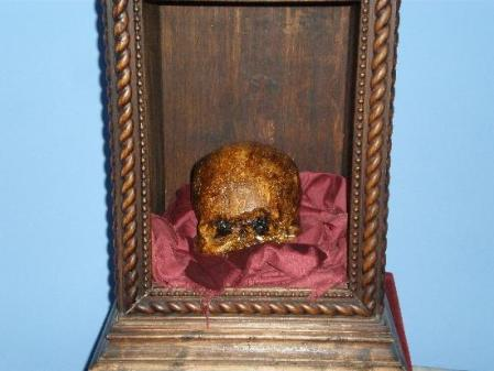 Thief demanded ransom for stolen skull of Pope