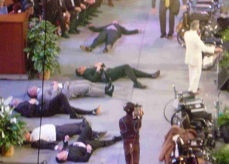The spirit within Benny Hinn is not from God of the Bible. It is killing the saints. Do not let Hinn touch you.