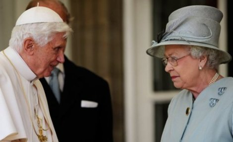 The present head of the Vatican and the head of the Church of England meet today for the first time.