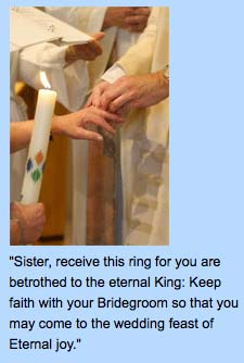 Catholic Nuns have replaced the Church as the bride of Christ