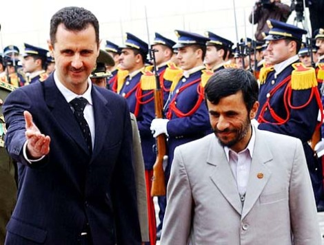 Obama seems to be more than unwilling to deal with evil man like Mahmoud Ahmadinejad and Basher al Assad.