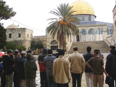 Jews who visit th Temple Mount have to keep mum, and not wisper a silent prayer.