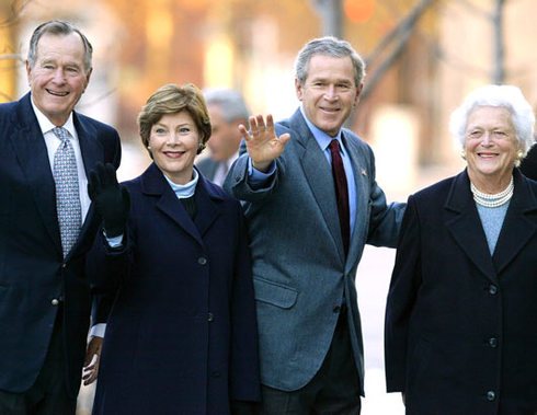 Image result for son and barbara bush