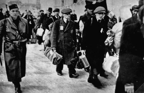 The Jews were deported from Slovakia in 1942 by th Nazis.