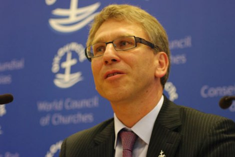 General Secretary Olav Fykse Tveit in WCC is building the end time religion.