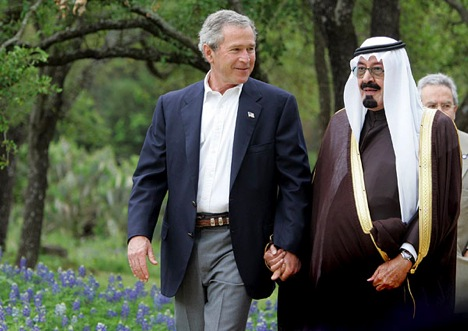 "When W. Bush started his ""war ion terror"", He simply saved the main culprit."
