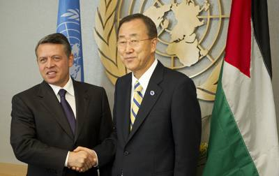 The King of Jordan and the leader of the UN are in agreement about disregarding the Word of God