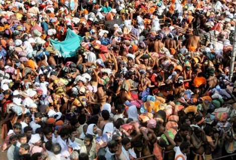 More than 100 people perished in this religious crowed in India.