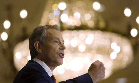 Tony Blair is a religious con man who works for the Pope in Rome.