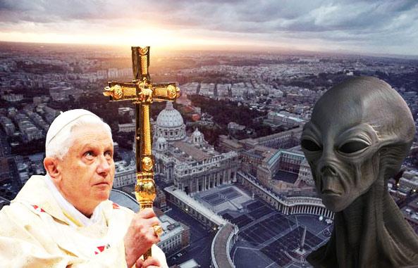 El jesuita astrónomo: «Bienvenidos, alienígenas, os bautizo en nombre del Padre» Vatican-ufo1