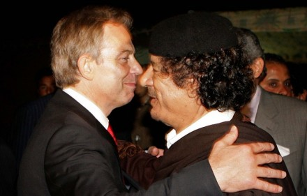 Tony Blair loved and hugeg Gaddafi. I am sure the Libyan dictator feels Blair deserve to live.