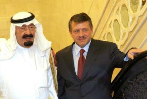 Two King Abdullahs that will end up in big trouble with Radical Islam. Jordan will fall first.