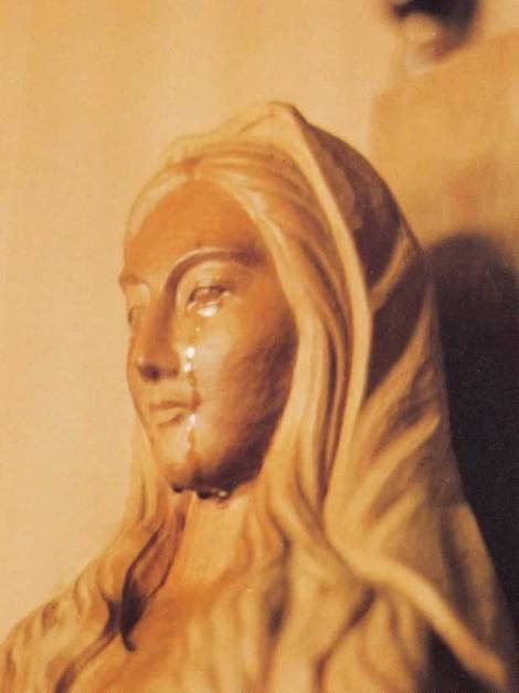 """Our Lady of Akita"" weeping statue is officially aproved by the Vatican as a supernatural occurance."