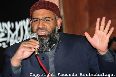 Anjem Chourday wants America ruled by Sharia law.