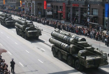 Russian missiles intended for sale to Syria