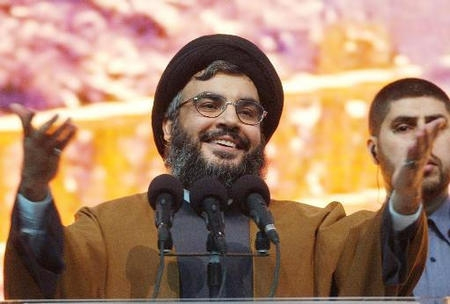 "Hassan Nasrallah in on his way out of the bunker. Hizb""Allah now runs Lebanon."