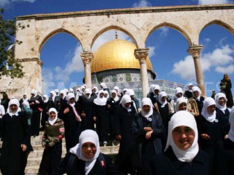 There are two million Muslims with Israeli citizenship, with full access to their religious sites in Jerusalem.