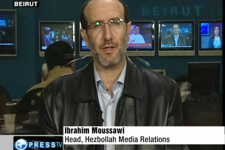 Director of Hezbollah's Media Relations, Ibrahim Moussawi