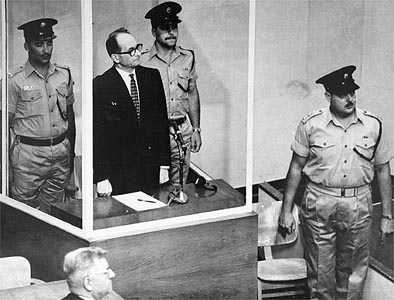 Adolf Eichmann had no regretts for the killing of six million Jews. He desired to wipe them all off the face of the Earth.